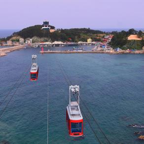 [Korea] บินเหนือมหาสมุทร! Samcheok Marine เคเบิลคาร์ เปิดแล้ววันที่ 26 กันยายน