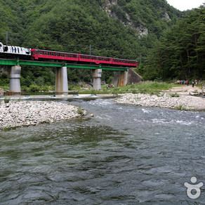 เส้นทางรถไฟในหุบเขา Baekdudaega