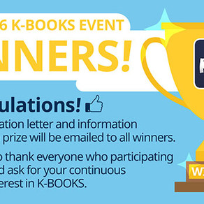 [Korea] ผู้ชนะกิจกรรม K-BOOKS 2016 (2016 K-BOOKS Event Winners)