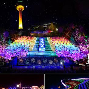 [Korea] เพลิดเพลินกับเทศกาลแสงที่ยอดเยี่ยมในเกาหลี! (Enjoy Brilliant Light Festivals in Korea!)