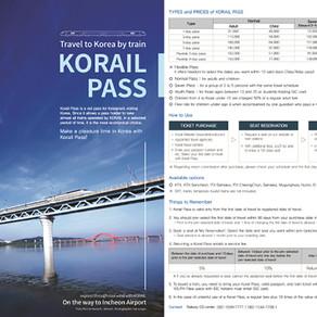 [Korea] KORAIL บัตรโดยสารรถไฟสุดพิเศษสำหรับนักท่องเที่ยวชาวต่างชาติ!