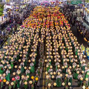 [Korea] ร่วมงานเทศกาลโคมไฟดอกบัว Yeon Deung Hoe