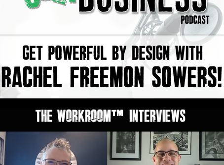 #110 Workroom Interview with Rachel Freemon Sowers