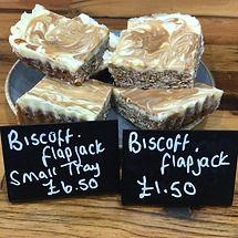 Biscoff Flapjack
