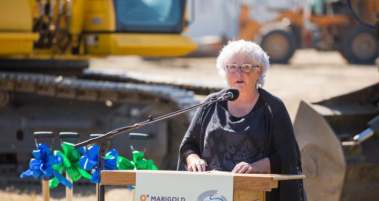 Strathmore Councillor Denise Peterson
