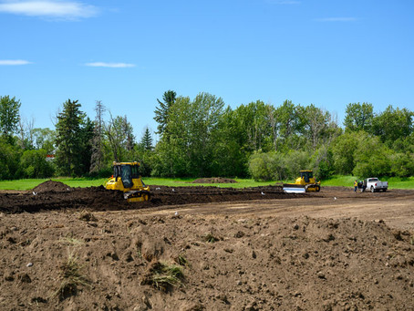 Site prep starts for Marigold-WID HQ