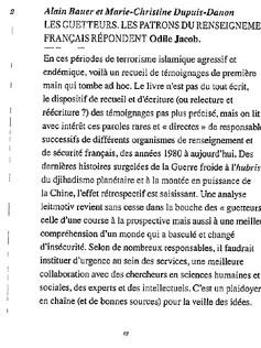 Revue Idées (Lemieux Editeur)