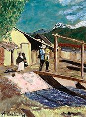 Aqui, Juntos painting