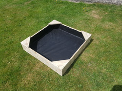 3x3 sandpit without lid for Grindleford