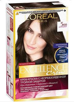 Loreal EXCELLENCE Краска для волос №5.00 шоколадный