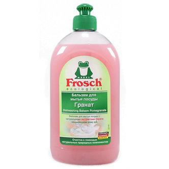 Frosch Бальзам для мытья посуды Гранат 500мл.