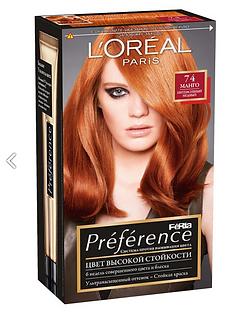 Loreal Preference Краска для волос №74 Манго