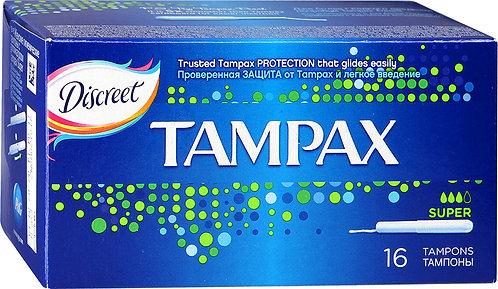 Тампоны Tampax Super 16шт.