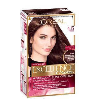 Loreal EXCELLENCE Краска для волос №4.15 Морозный шоколад