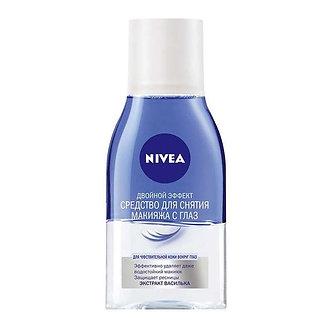 NIVEA Средство для снятия макияжа с глаз Двойной эффект 125мл.