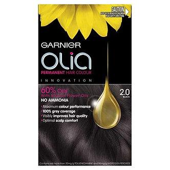 GARNIER OLia Краска для волос №2.0 Черный