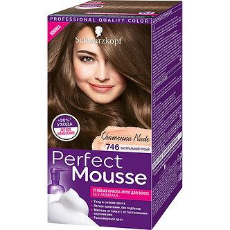 Schwarzkopf Perfect Mousse Краска для волос №746 Натуральный русый