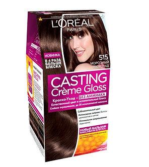 Loreal CASTING Creme Gloss Краска для волос №515 Морозный шоколад