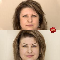 Несмываемый макияж.Пудровые брови.Работа