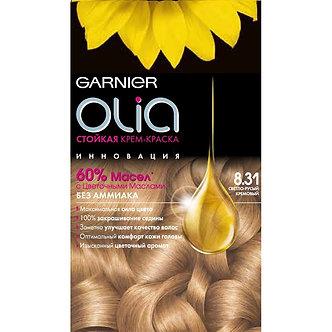 GARNIER OLia Краска для волос №8.0 Светло-русый