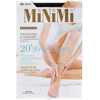Носки MiNiMi Brio 20 Den 0(UNO)