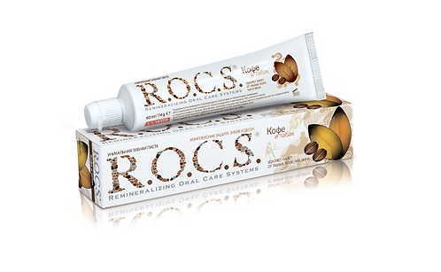 """R.O.C.S. Зубная паста """"Кофе и табак"""" 74гр."""