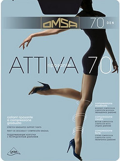 Колготки Omsa ATTIVA 70 Den CARAMELLO (телесный)