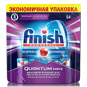 finish QUANTUM Таблетки для посудомоечных машин 54шт.