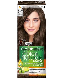 GARNIER Color naturals Краска для волос №5.00 Глубокий каштановый