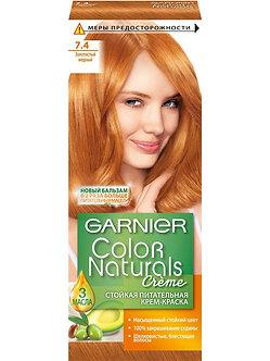 GARNIER Color naturals Краска для волос №7.4 Золотистый медный