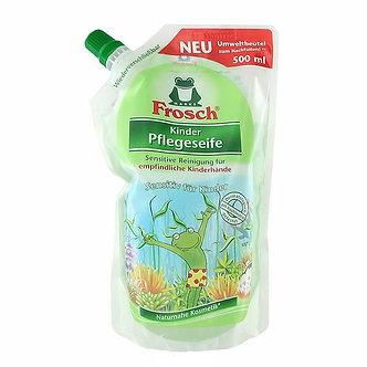 Frosch Жидкое детское мыло для рук Ухаживающее 500мл.