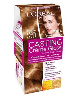 Loreal CASTING Creme Gloss Краска для волос №7304 Пряная карамель