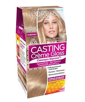 Loreal CASTING Creme Gloss Краска для волос №910 Очень светло-русый пепельный