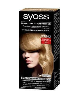 Schwarzkopf SYOSS Краска для волос №8-6 Светлый блонд