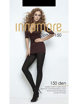 Колготки INNAMORE Cotton 150 NERO
