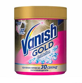 Vanish Пятновыводитель для тканей Oxi Action GOLD 500гр