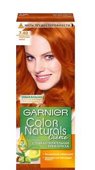 GARNIER Color naturals Краска для волос №7.40 Пленительный медный