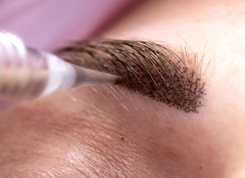 пудровые брови#перманент бровей#брови ар