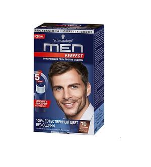 Schwarzkopf MEN Perfec Краска для волос №70 Натуральный темно-каштановый