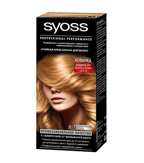 Schwarzkopf SYOSS Краска для волос №8-7 Карамельный блонд