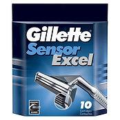Gillette Sensor Excel Лезвия 10шт.