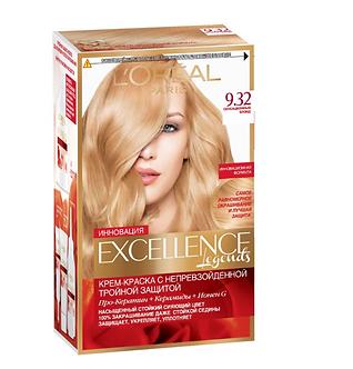 Loreal EXCELLENCE Краска для волос №9.32 Сенсационный блонд