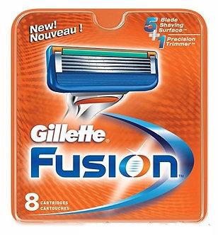 Gillette FUSION Лезвия 8шт.