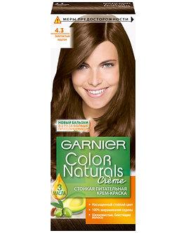 GARNIER Color naturals Краска для волос №4.3 Золотистый каштан