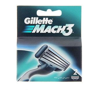 Gillette МACH3 лезвия 2шт.