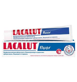 "LACALUT Зубная паста ""fluor"" 75мл."