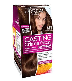Loreal CASTING Creme Gloss Краска для волос №535 Шоколад