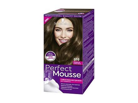 Schwarzkopf Perfect Mousse Краска для волос №616 Ледяной капучино