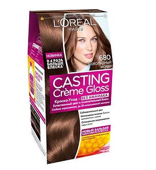 Loreal CASTING Creme Gloss Краска для волос №680 Шоколадный мокко