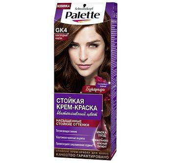Schwarzkopf Palette Краска для волос № GK4 Благородный каштан